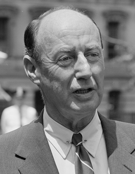 Picture of Adlai Stevenson.