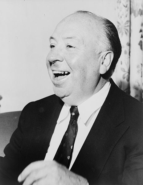 Picture of Alfred Hitchcock. Alfred Hitchcock. Photo by Fred Palumbo 1956. Library of Congress Prints and Photographs Division. New York World-Telegram and the Sun Newspaper Photograph Collection