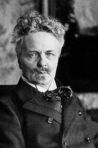 Picture of August Strindberg. Strindberg after his 50th birthday, when he was finally settled in Sweden.