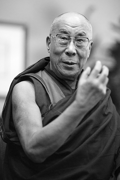 Picture of Tenzin Gyatso, 14th Dalai Lama. Dalai Lama in 2012 at MIT by Photographer Christopher Michel