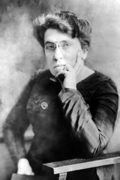 Picture of Emma Goldman. Emma Goldman circa 1911