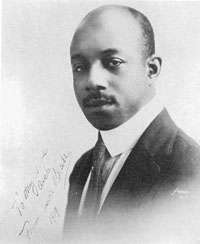 Picture of Eubie Blake. Eubie Blake, picture from the website of the the U.S. Library of Congress