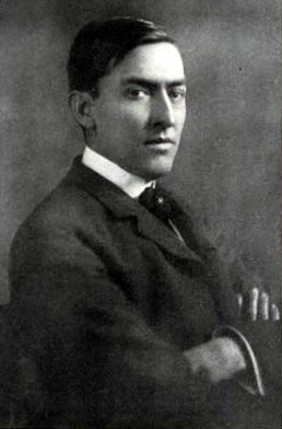 Picture of George Ade. George Ade talks of his stage ideals: the most recent portrait of George Ade (from 'The Theatre Magazine', Nov. 1904).