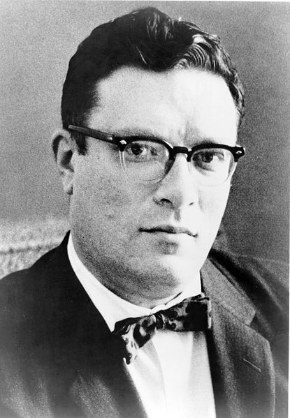 Picture of Isaac Asimov. Dr. Isaac Asimov, head-and-shoulders portrait, facing slightly right, 1965. New York World-Telegram and the Sun Newspaper Photograph Collection.