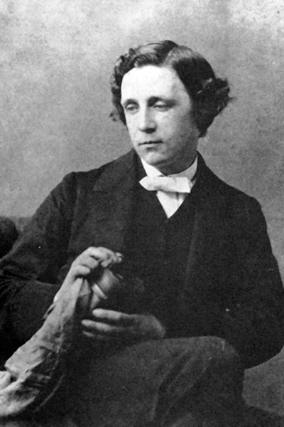 Picture of Lewis Carroll. The author died in 1875, so this work is in the public domain in its country of origin and other countries and areas where the copyright term is the author's life plus 100 years or less.