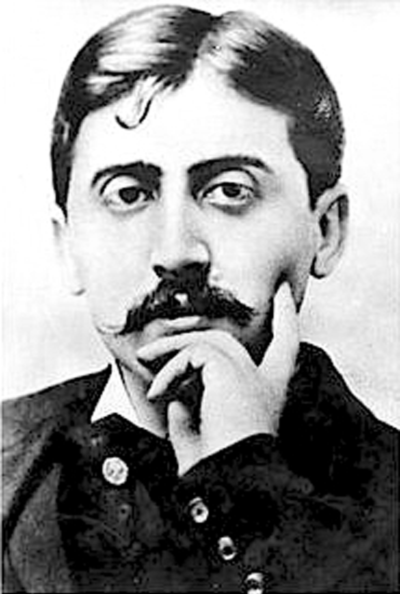 Picture of Marcel Proust. Marcel Proust in 1900