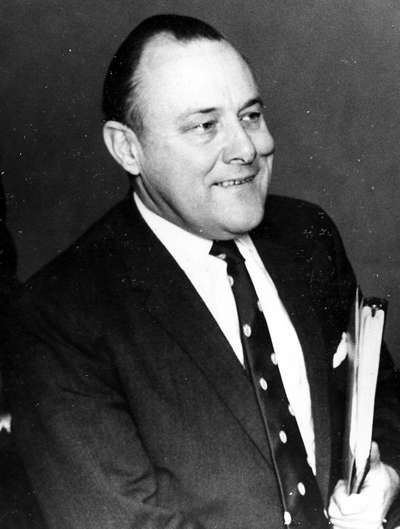 Picture of Robert Muldoon. The Right Honourable Sir Robert Muldoon in 1969.