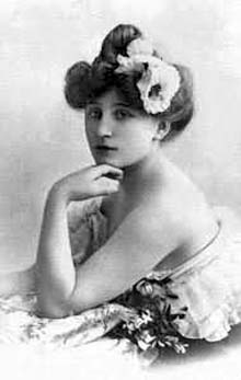 Picture of Colette. Sidone Gabrielle Colette in 1890(?)