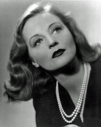 Picture of Tallulah Bankhead. This work is in the public domain in that it was published in the United States between 1923 and 1977 and without a copyright notice.
