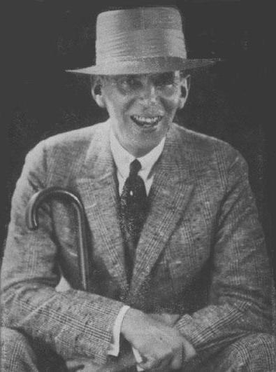 Picture of Wilson Mizner. Wilson Mizner from a c. 1922 photograph.