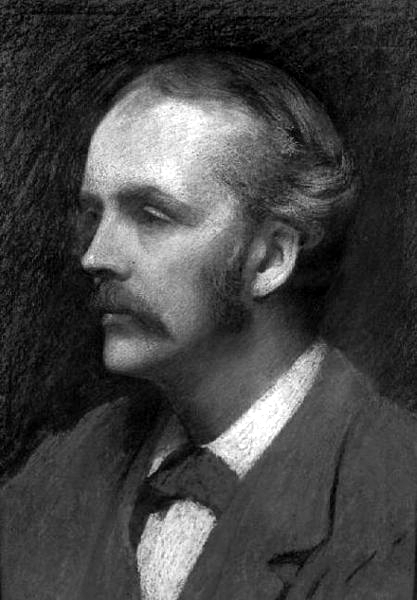 Picture of Arthur Balfour. Arthur James Balfour in 1892 by Ellis William Roberts (1860 - 1930)