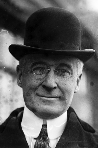 Picture of Bernard Baruch. Bernard Baruch, 11th December 1920