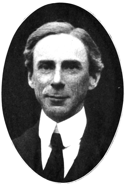 Picture of Bertrand Russell. Bertrand Russell (1916)