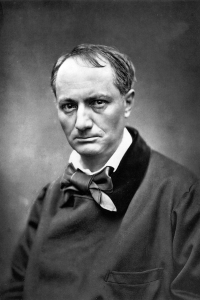 Picture of Charles-Pierre Baudelaire.
