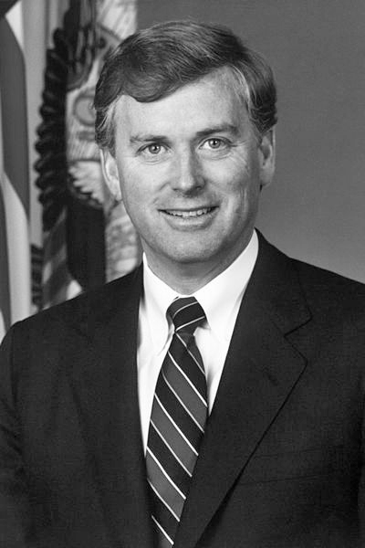 Picture of Dan Quayle. DoD portrait of Mr. J. Danforth Quayle, Vice President of the United States (U.S. Army Photo)