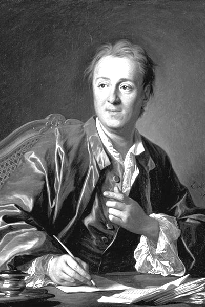 Picture of Denis Diderot. Diderot by Louis-Michel van Loo, 1767