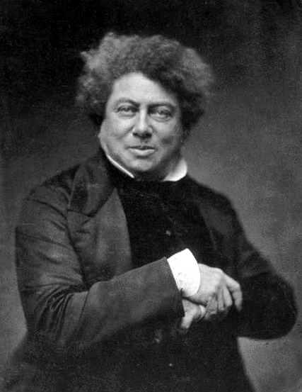 Picture of Alexandre Dumas.