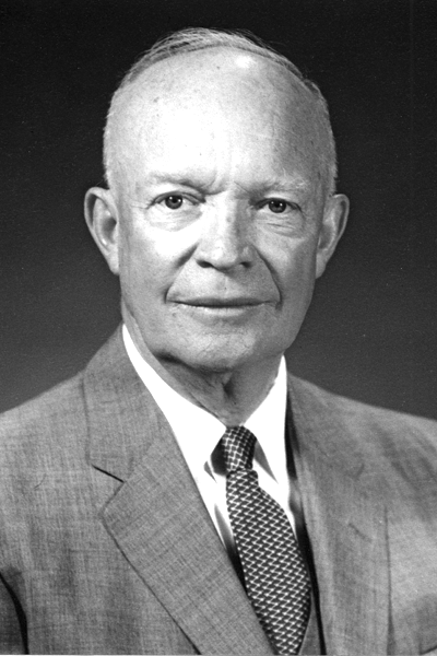 Picture of Dwight D. Eisenhower. Dwight D. Eisenhower photo portrait 29 May 1959