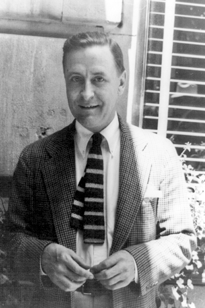 Picture of F. Scott Fitzgerald. F. Scott Fitzgerald, photographed by Carl van Vechten, on June 4th 1937