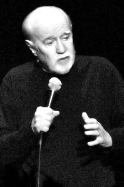 Picture of George Carlin.