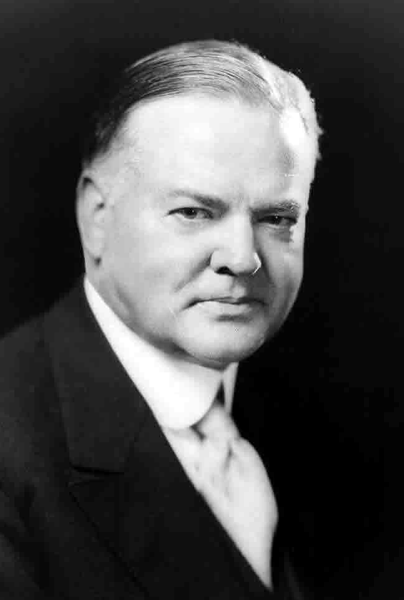 Picture of Herbert Hoover.