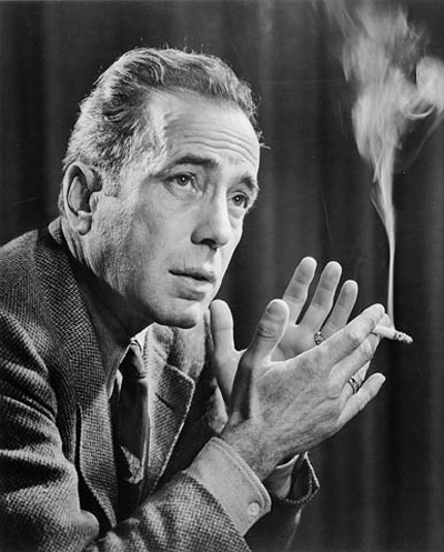 Picture of Humphrey Bogart. Photo of Humphrey Bogart by Yousuf Karsh, 1946 (