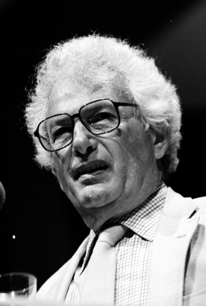 Picture of Joseph Heller. Joseph Heller at the Miami Book Fair International of 1986, photo by Miami Dade Campus Archives