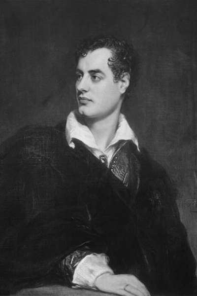 Picture of Lord Byron. Lord Byron in 1824, UK Government Art Collection