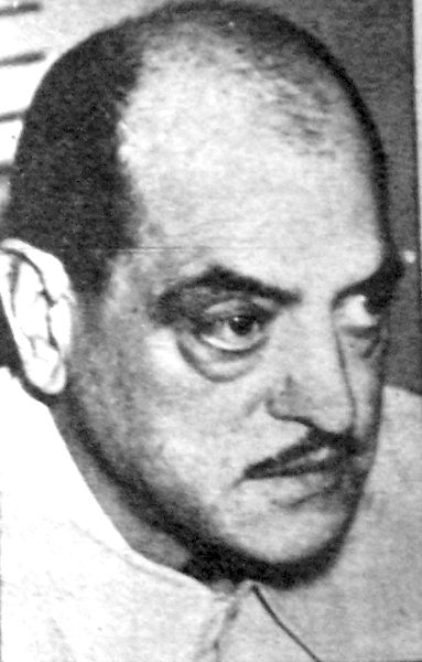Picture of Luis Buñuel. Luis Buñuel in Revista Gente y la actualidad, year 3, number 130, January 1968, Buenos Aires