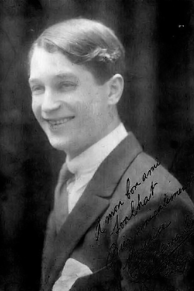 Picture of Maurice Chevalier. Maurice Chevalier by Lucien Walery (1863-1935)