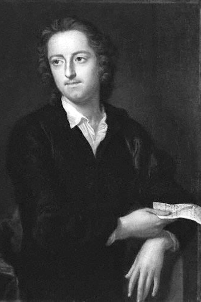 Picture of Thomas Gray. Portrait of the poet Thomas Gray by painter John Giles Eccardt; oil on canvas, painted 1747-1748,.