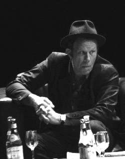 Picture of Tom Waits. Tom Waits during an interview in Buenos Aires, Argentina, April 2007 (author: Theplatypus modified: Luis de Avendaño)