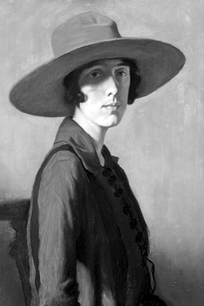 Picture of Vita Sackville-West. Lady with a Red Hat, portrait of Vita Sackville-West, 1918, by William Strang (1859?1921). This work is in the public domain in the United States because it was published before January 1, 1923. This work is also in the public domain in countries and areas where the copyright term is the author's life plus 90 years or less.