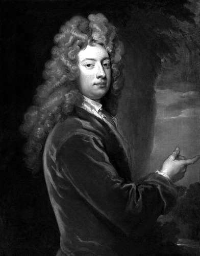 Picture of William Congreve. William Congreve, oil painting by Sir Godfrey Kneller (died 1723), 1709.